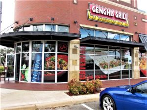 Restaurant Signs custom storefront outdoor building restaurant window vinyl channel letters 300x225