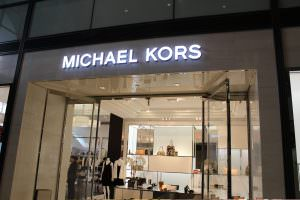 Michael Kors Storefront Sign Channel Letter Sign Backlit